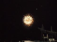 貴重な花火の写真!