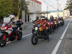沢山のバイクが集結!イタリアンイタリアン