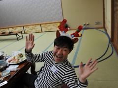 クリスマス仕様の前田様