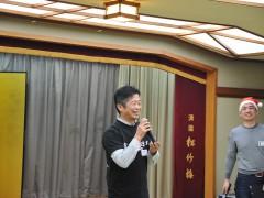 こちらはクシタニ京都店の三原様。ホームページではアパレルを貸していただきました。ありがとうございます。