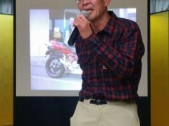 今年でオートバイを引退された鈴木様。ツーリングイベントにもたくさん参加いただきました。