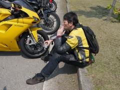 木村様はスーパーバイクでも1,000㎞も苦になりません。