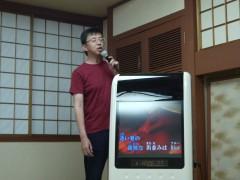 糸井様も酔い冷ましにということでしたが。ノリのいい一曲を披露していただきました。