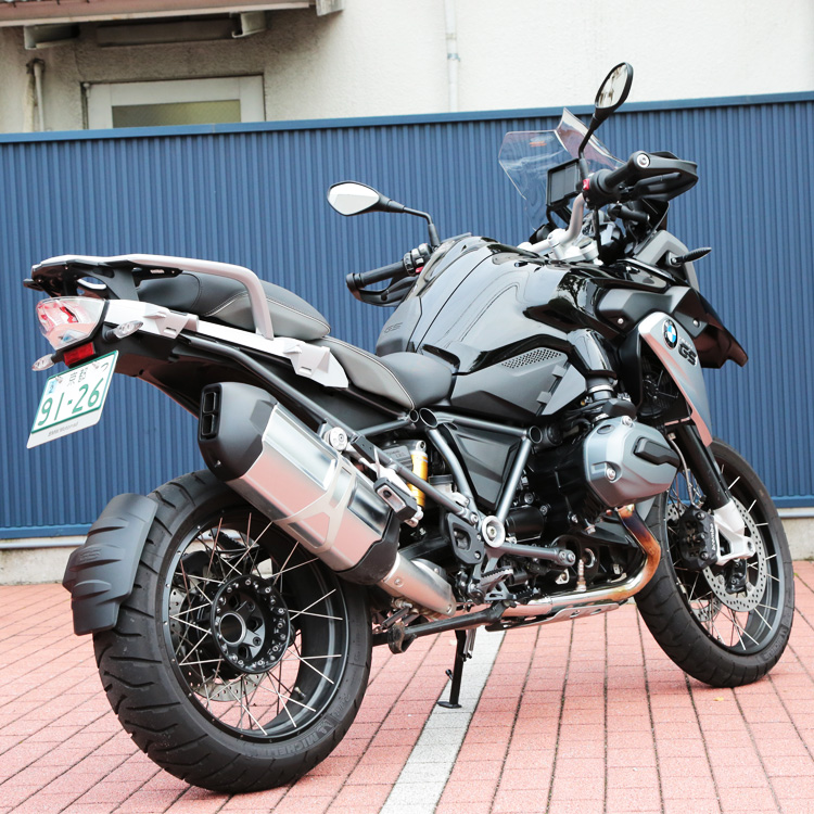 R1200GS リアビュー