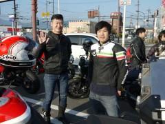 ストリートファイター848 河野様とF3-675 大田様。