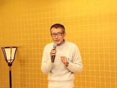 乾杯の音頭は田中様に。本当にスピーチが上手です。