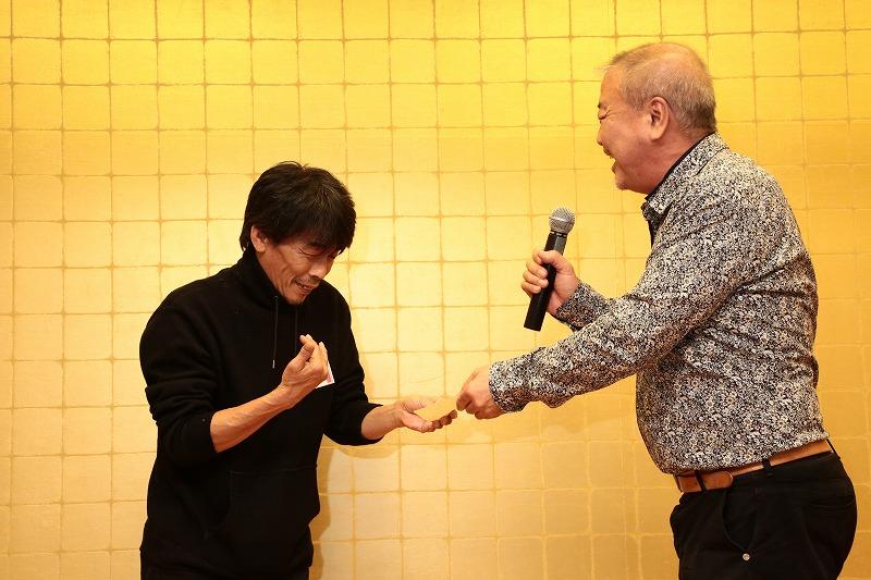 こちらは上田様がGET!おめでとうございます。