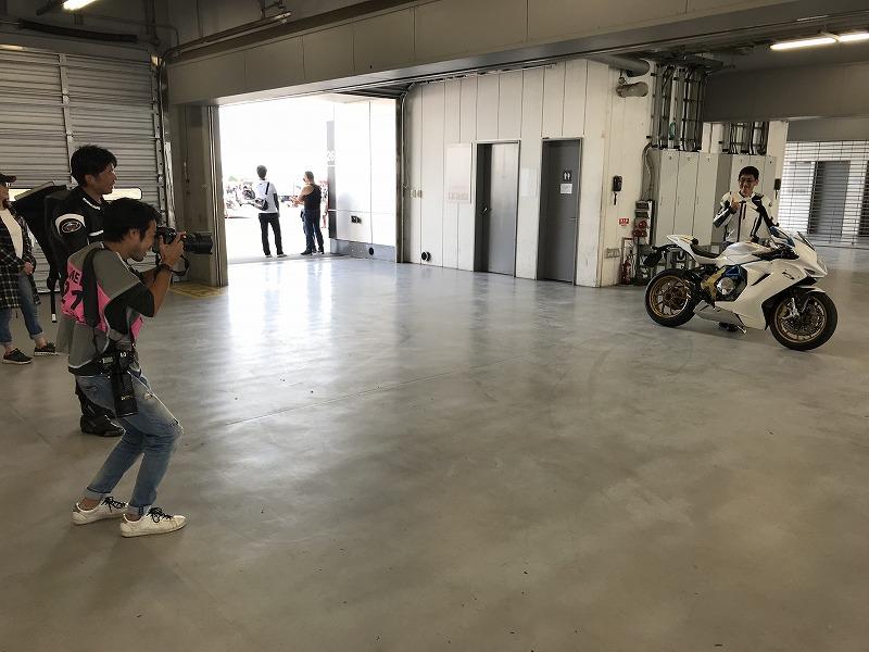 田中様はMOTO NAVIの取材を受けておりました。
